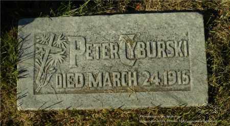 TYBURSKI, PETER - Lucas County, Ohio   PETER TYBURSKI - Ohio Gravestone Photos