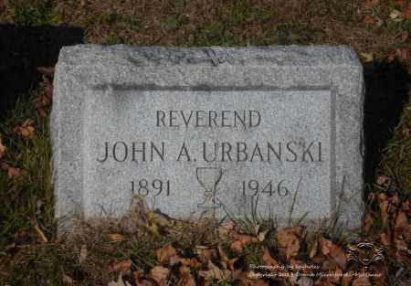 URBANSKI, JOHN A. - Lucas County, Ohio   JOHN A. URBANSKI - Ohio Gravestone Photos