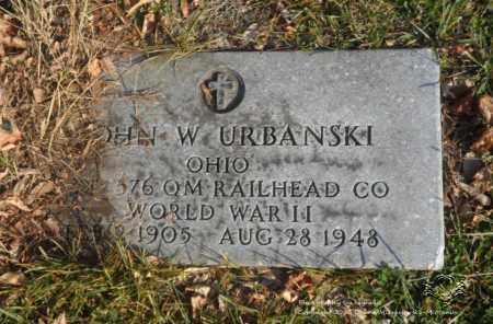 URBANSKI, JOHN W. - Lucas County, Ohio | JOHN W. URBANSKI - Ohio Gravestone Photos