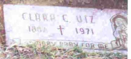 LENHART UTZ, CLARA C. - Lucas County, Ohio | CLARA C. LENHART UTZ - Ohio Gravestone Photos