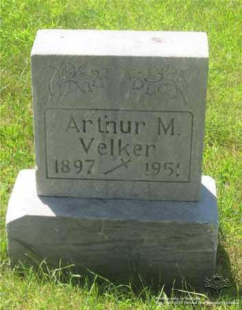 VELKER, ARTHUR M. - Lucas County, Ohio | ARTHUR M. VELKER - Ohio Gravestone Photos