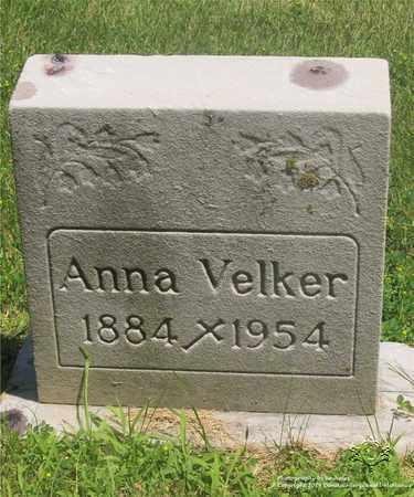 VELKER, ANNA - Lucas County, Ohio | ANNA VELKER - Ohio Gravestone Photos