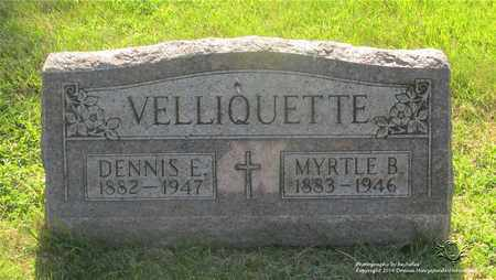 VELLIQUETTE, MYRTLE B. - Lucas County, Ohio | MYRTLE B. VELLIQUETTE - Ohio Gravestone Photos