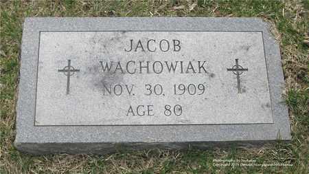 WACHOWIAK, JACOB - Lucas County, Ohio   JACOB WACHOWIAK - Ohio Gravestone Photos