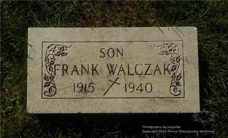 WALCZAK, FRANK - Lucas County, Ohio | FRANK WALCZAK - Ohio Gravestone Photos