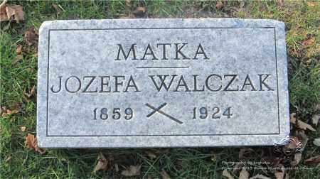WALCZAK, JOZEFA - Lucas County, Ohio | JOZEFA WALCZAK - Ohio Gravestone Photos