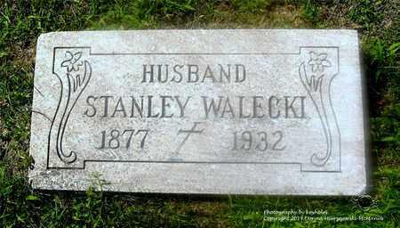 WALECKI, STANLEY - Lucas County, Ohio | STANLEY WALECKI - Ohio Gravestone Photos