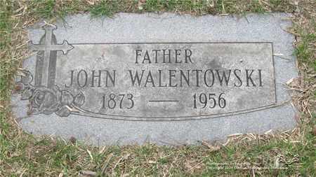 WALENTOWSKI, JOHN - Lucas County, Ohio | JOHN WALENTOWSKI - Ohio Gravestone Photos