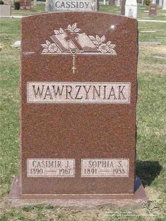 WAWRZYNIAK, CASIMIR J. - Lucas County, Ohio   CASIMIR J. WAWRZYNIAK - Ohio Gravestone Photos