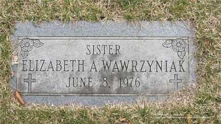 WAWRZYNIAK, ELIZABETH A. - Lucas County, Ohio | ELIZABETH A. WAWRZYNIAK - Ohio Gravestone Photos