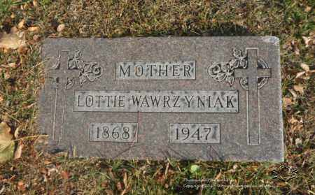 WAWRZYNIAK, LOTTIE - Lucas County, Ohio | LOTTIE WAWRZYNIAK - Ohio Gravestone Photos