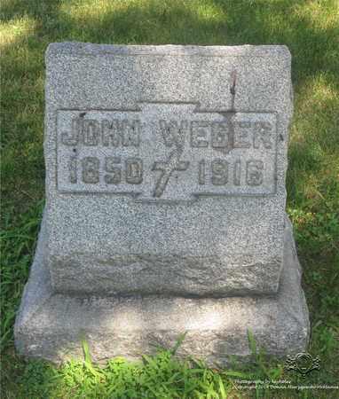 WEBER, JOHN - Lucas County, Ohio   JOHN WEBER - Ohio Gravestone Photos