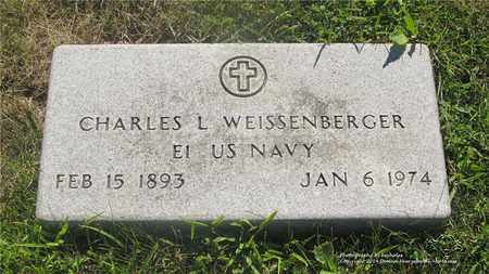 WEISSENBERGER, CHARLES L. - Lucas County, Ohio | CHARLES L. WEISSENBERGER - Ohio Gravestone Photos
