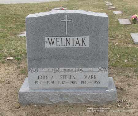 WELNIAK, JOHN A. - Lucas County, Ohio   JOHN A. WELNIAK - Ohio Gravestone Photos
