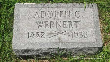 WERNERT, ADOLPH C. - Lucas County, Ohio | ADOLPH C. WERNERT - Ohio Gravestone Photos