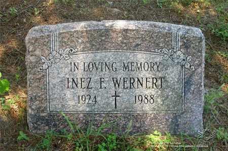 WERNERT, INEZ F. - Lucas County, Ohio | INEZ F. WERNERT - Ohio Gravestone Photos