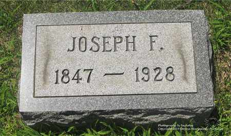 WERNERT, JOSEPH F. - Lucas County, Ohio | JOSEPH F. WERNERT - Ohio Gravestone Photos