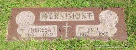 WERNIMONT, EMIL - Lucas County, Ohio | EMIL WERNIMONT - Ohio Gravestone Photos