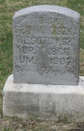 WESOLOWSKI, FRANCISZKA - Lucas County, Ohio | FRANCISZKA WESOLOWSKI - Ohio Gravestone Photos