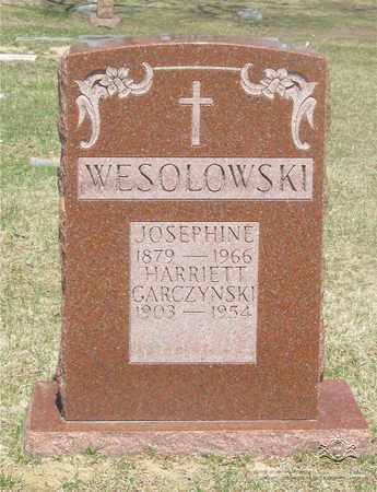 WESOLOWSKI, JOSEPHINE - Lucas County, Ohio | JOSEPHINE WESOLOWSKI - Ohio Gravestone Photos