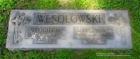 WESOLOWSKI, WOJCIECH - Lucas County, Ohio | WOJCIECH WESOLOWSKI - Ohio Gravestone Photos