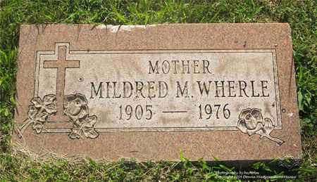 WHERLE, MILDRED M. - Lucas County, Ohio | MILDRED M. WHERLE - Ohio Gravestone Photos