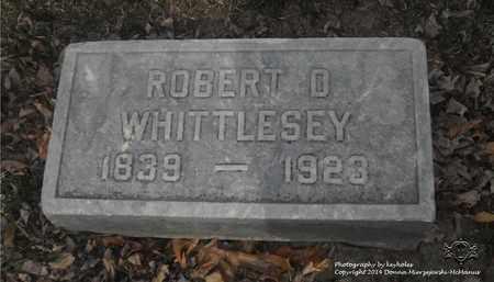 WHITTLESEY, ROBERT D. - Lucas County, Ohio   ROBERT D. WHITTLESEY - Ohio Gravestone Photos