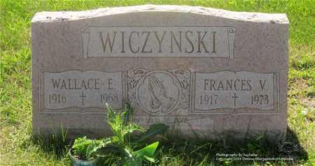 WICZYNSKI, WALLACE E. - Lucas County, Ohio   WALLACE E. WICZYNSKI - Ohio Gravestone Photos