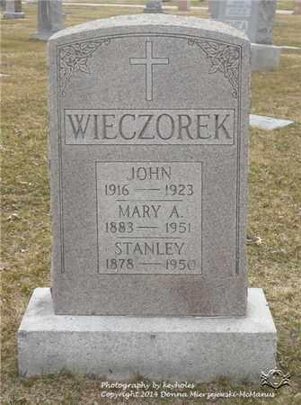 RYBARCZYK WIECZOREK, MARY A. - Lucas County, Ohio | MARY A. RYBARCZYK WIECZOREK - Ohio Gravestone Photos