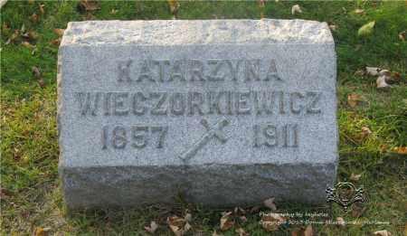 WIECZORKIEWICZ, KATARZYNA - Lucas County, Ohio   KATARZYNA WIECZORKIEWICZ - Ohio Gravestone Photos
