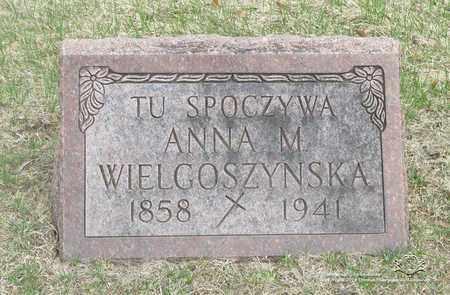 WIELGOSZYNSKA, ANNA - Lucas County, Ohio | ANNA WIELGOSZYNSKA - Ohio Gravestone Photos