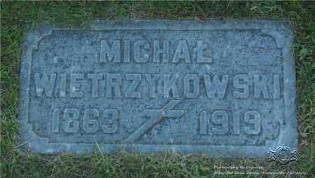 WIETRZYKOWSKI, MICHAL - Lucas County, Ohio | MICHAL WIETRZYKOWSKI - Ohio Gravestone Photos