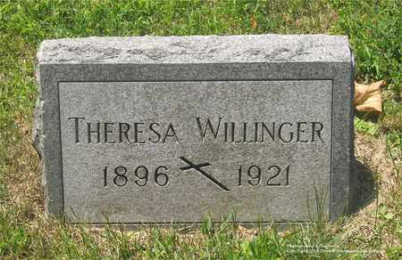WILLINGER, THERESA - Lucas County, Ohio | THERESA WILLINGER - Ohio Gravestone Photos