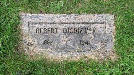 WISNIEWSKI, ALBERT - Lucas County, Ohio   ALBERT WISNIEWSKI - Ohio Gravestone Photos