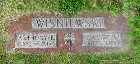 WISNIEWSKI, ANTHONY E. - Lucas County, Ohio | ANTHONY E. WISNIEWSKI - Ohio Gravestone Photos