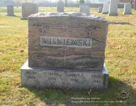 WISNIEWSKI, PETRONELA - Lucas County, Ohio   PETRONELA WISNIEWSKI - Ohio Gravestone Photos