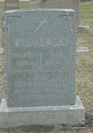 WISNIEWSKI, LEO R. - Lucas County, Ohio | LEO R. WISNIEWSKI - Ohio Gravestone Photos