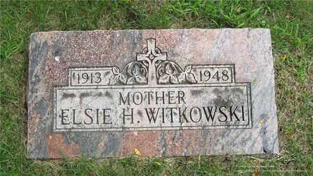 WITKOWSKI, ELSIE H. - Lucas County, Ohio | ELSIE H. WITKOWSKI - Ohio Gravestone Photos