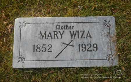 WIZA, MARY - Lucas County, Ohio | MARY WIZA - Ohio Gravestone Photos