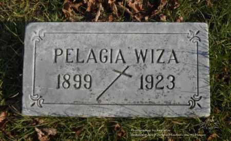 WIZA, PELAGIA - Lucas County, Ohio   PELAGIA WIZA - Ohio Gravestone Photos
