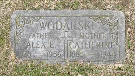 DAMAZYN WODARSKI, CATHERINE - Lucas County, Ohio | CATHERINE DAMAZYN WODARSKI - Ohio Gravestone Photos