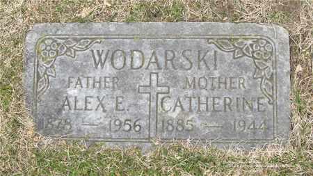 WODARSKI, ALEX E. - Lucas County, Ohio | ALEX E. WODARSKI - Ohio Gravestone Photos