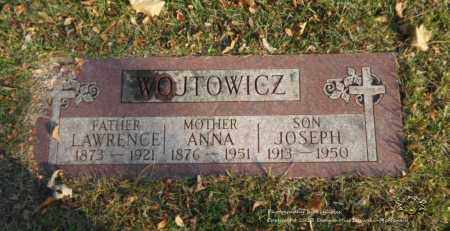 WOJTOWICZ, ANNA - Lucas County, Ohio | ANNA WOJTOWICZ - Ohio Gravestone Photos