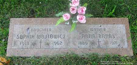 WOJTOWICZ, SOPHIA - Lucas County, Ohio | SOPHIA WOJTOWICZ - Ohio Gravestone Photos