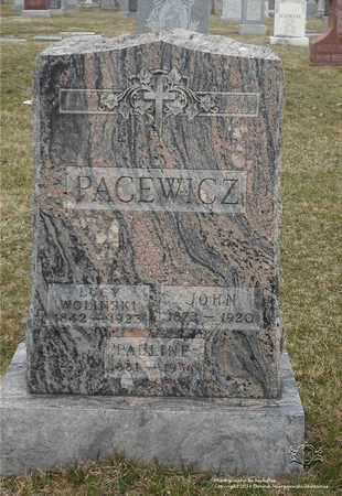 ZAWODNY WOLINSKI, LUCY - Lucas County, Ohio | LUCY ZAWODNY WOLINSKI - Ohio Gravestone Photos