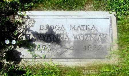 WOZNIAK, MARYANNA - Lucas County, Ohio | MARYANNA WOZNIAK - Ohio Gravestone Photos