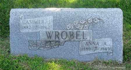 SPRENGEL  WROBEL, ANNA - Lucas County, Ohio | ANNA SPRENGEL  WROBEL - Ohio Gravestone Photos