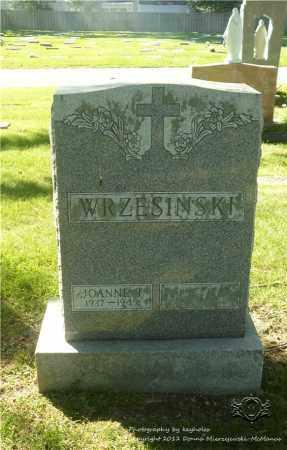 WRZESINSKI, JOANNE T. - Lucas County, Ohio   JOANNE T. WRZESINSKI - Ohio Gravestone Photos