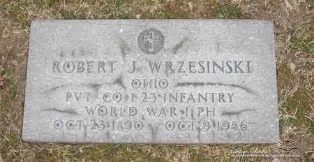 WRZESINSKI, ROBERT J. - Lucas County, Ohio   ROBERT J. WRZESINSKI - Ohio Gravestone Photos