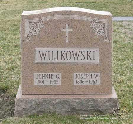 WUJKOWSKI, JOSEPH W. - Lucas County, Ohio   JOSEPH W. WUJKOWSKI - Ohio Gravestone Photos